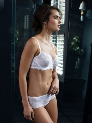 Lace Affair Blanc